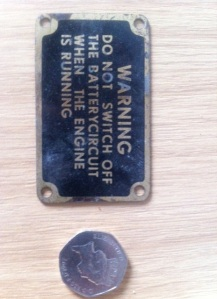 IFCA_30012 Warning panel